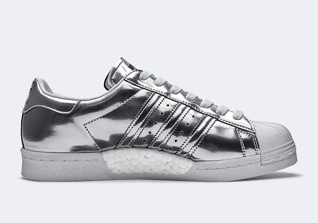 Superstar Adidas Black And Silver