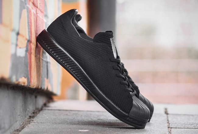 adidas Superstar Bounce Primeknit Triple Black