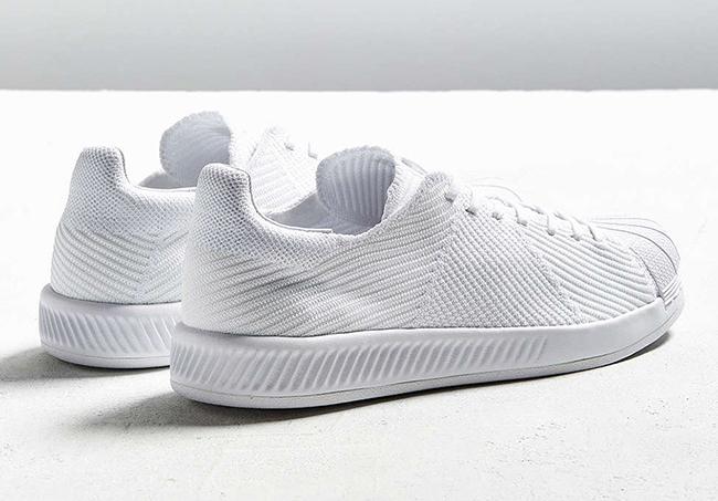 adidas Superstar Bounce Primeknit Triple White