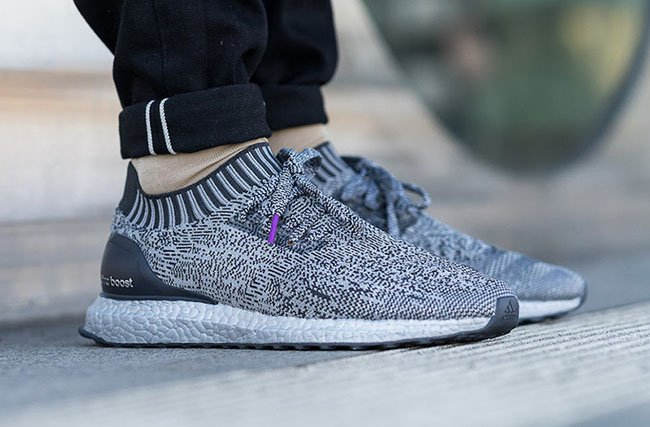 hot sale online b8b24 8ebc2 adidas Ultra Boost Uncaged Silver Pack Boost On Feet