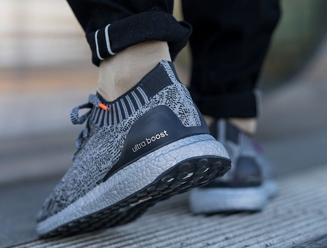 adidas Ultra Boost Uncaged Silver Pack Boost On Feet