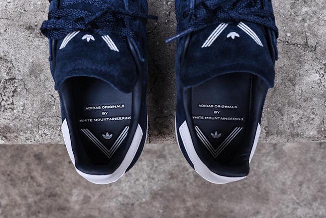 White Mountaineering x adidas Campus 80s Navy