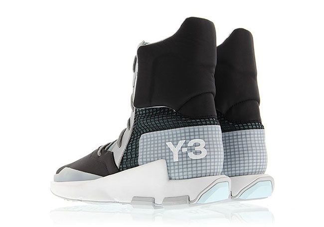 adidas Y-3 Noci High Black Silver Metallic