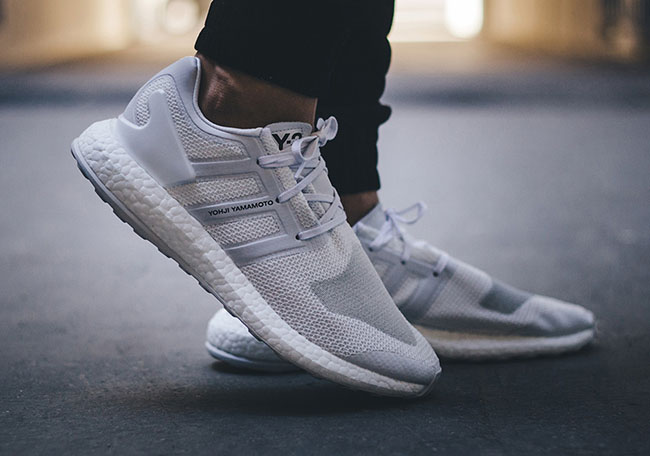 adidas y3 pure boost white