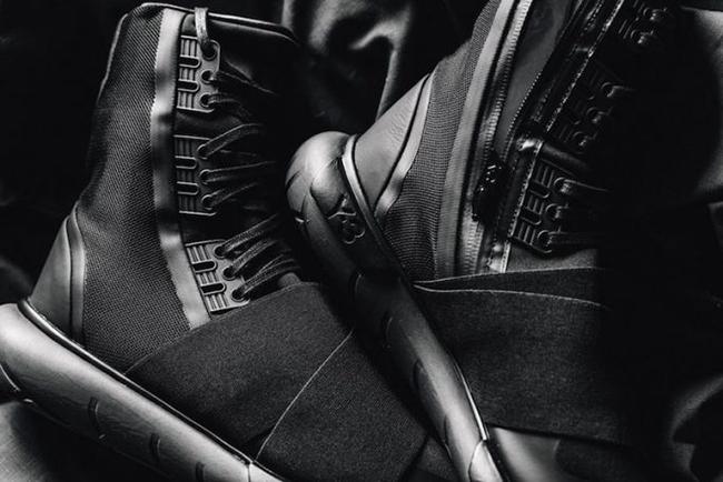 08c43b84190 adidas Y-3 Qasa Boot Triple Black BY2629