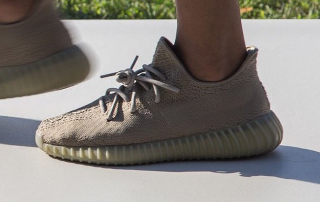 Fast shipping AQ 2661 Adidas Yeezy 350 Boost Light Stone / Oxford
