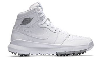 Air Jordan 1 Golf White Silver