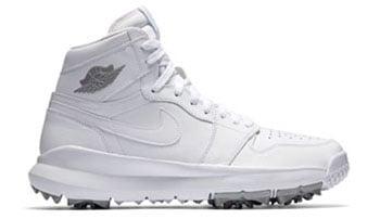 Air Jordan 1 Golf White Silver