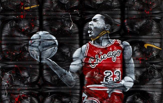 Air Jordan 1 Michael Jordan Art