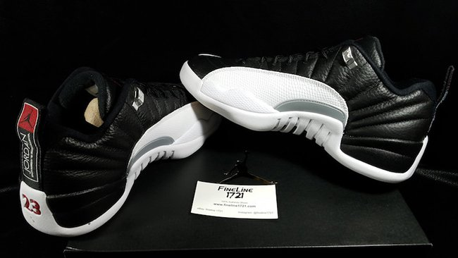 Air Jordan 12 Low Playoffs Retro 2017