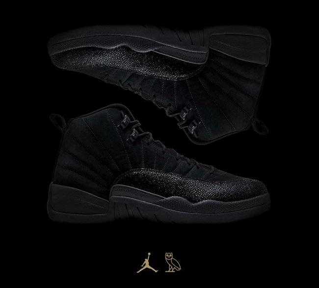 Air Jordan 12 OVO 2017 All-Star Collection