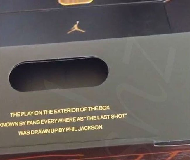 Air Jordan 13 14 Championship Pack Box Packaging
