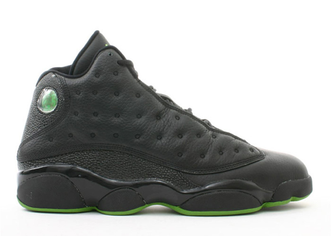 Air Jordan 13 Altitude Black Green 2017 Release Date  543b3c5709ea