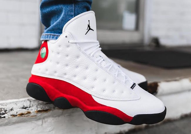 Air Jordan 13 OG Chicago Cherry On Feet