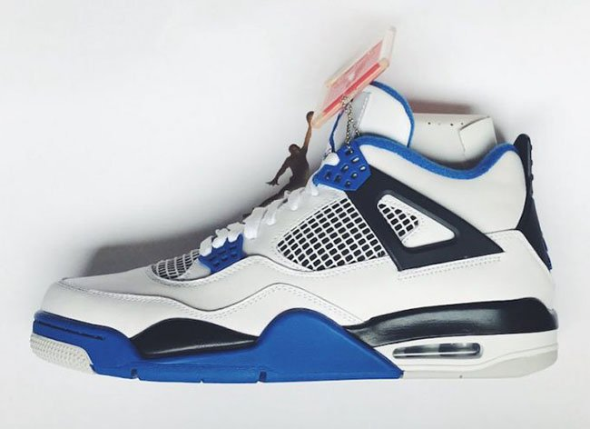 Air Jordan 4 Motorsports Available Early