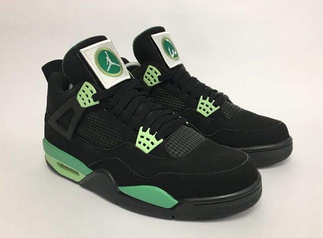 Air Jordan 4 Wahlburgers Custom