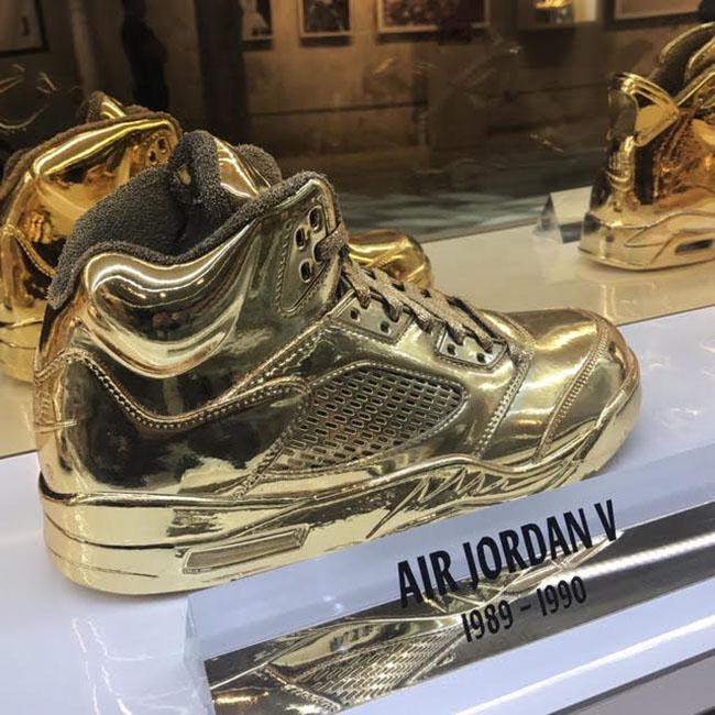 Air Jordan 5 Gold
