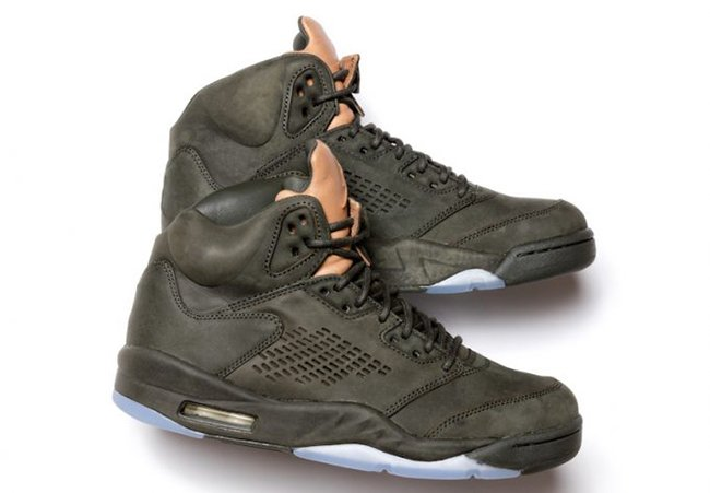 Air Jordan 5 Premium Take Flight Sequoia