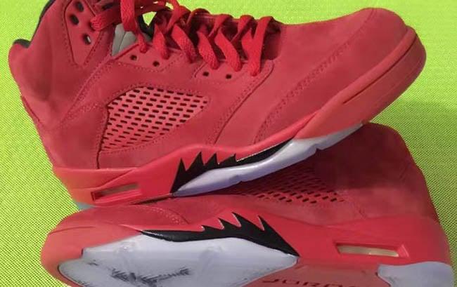 Air Jordan 5 'Red Suede' Releases in July