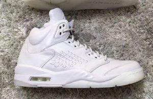 Air Jordan 5 Take Flight Triple White