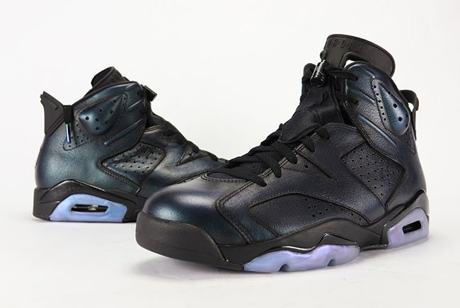 best service edbd2 93254 Air Jordan 6 All-Star Chameleon Gotta Shine 2017 Review On Feet