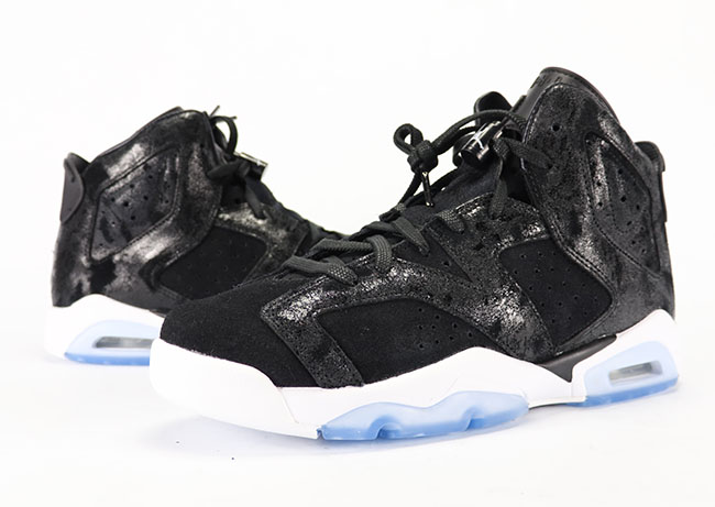 Air Jordan 6 Heiress Black White Suede Review