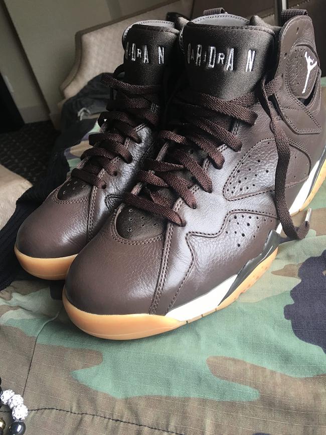 Air Jordan 7 Anthony Hamilton Brown Gum PE