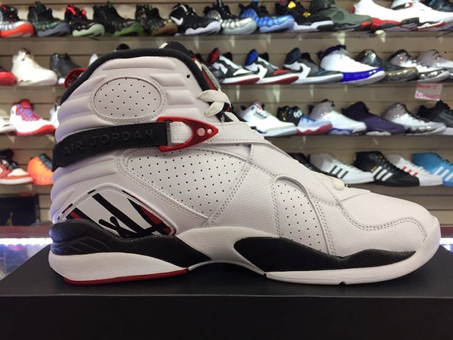 new style 462bf de931 ... cheap air jordan 8 alternate white gym red black wolf grey 8263e f9d39