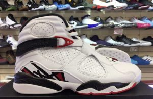 Air Jordan 8 Alternate White Gym Red Black Wolf Grey
