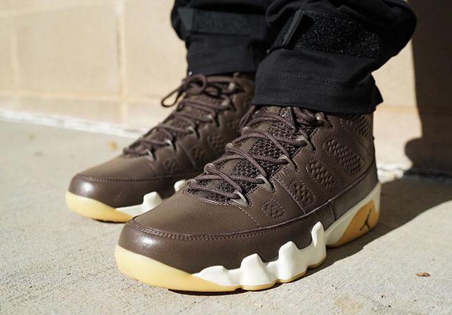 Air Jordan 9 Anthony Hamilton Chocolate Brown PE