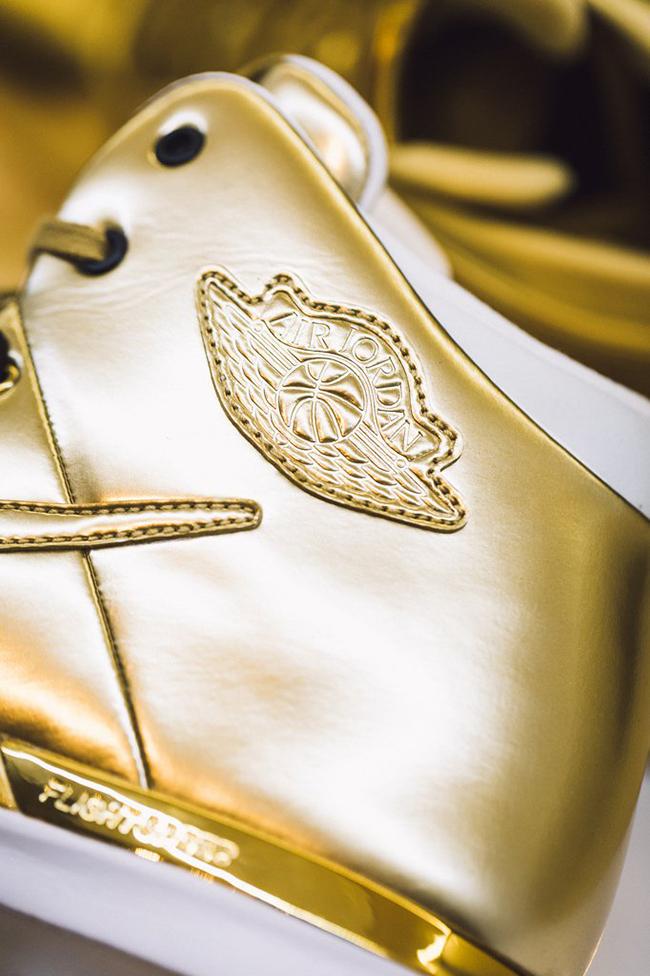 Air Jordan XXX1 Metallic Gold All-Star Weekend