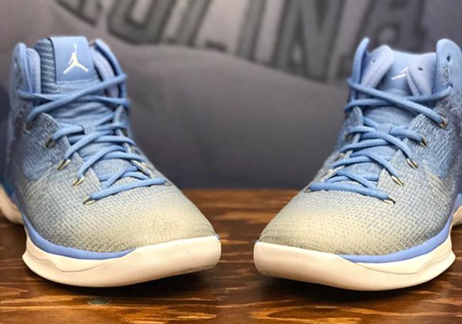 Air Jordan XXX1 UNC Tar Heels Gradient PE