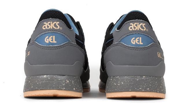 Asics Gel Lyte III Light Grey Black Blue Nude