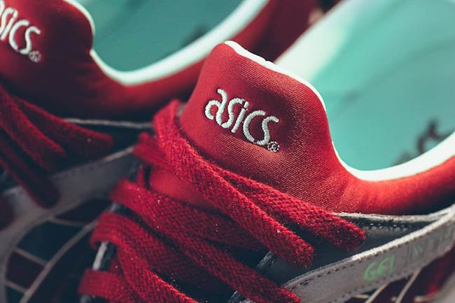 Asics Gel Lyte V Carbon Red