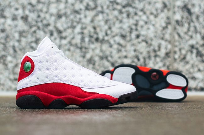 Chicago Air Jordan 13 OG White Red