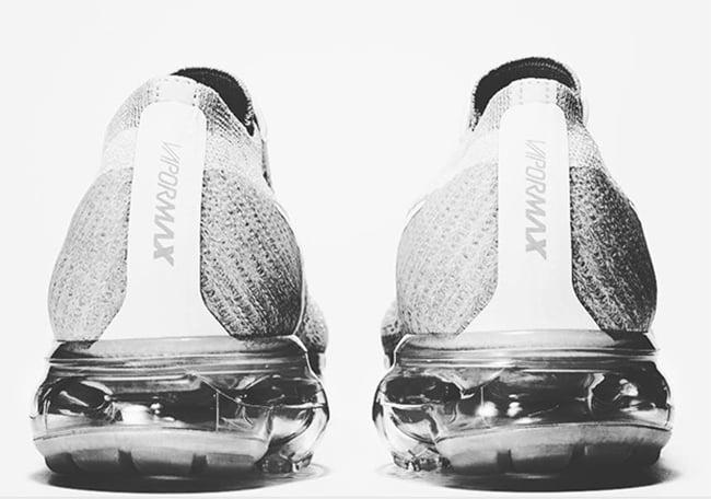 COMME des GARCONS Nike VaporMax Silver