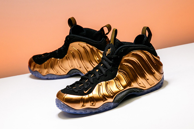 Copper Nike Foamposite One 2017 Retro