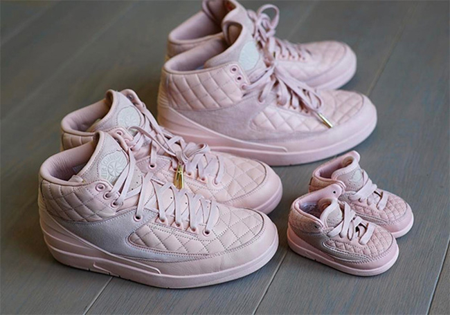 DJ Khaled Air Jordan 2 Don C Pink