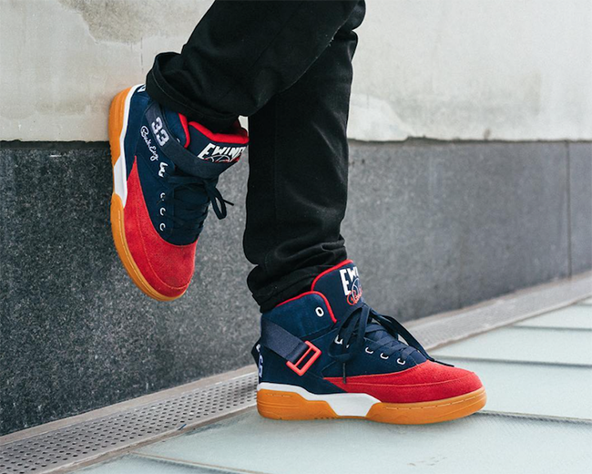 Ewing 33 Mid Navy Red Gum