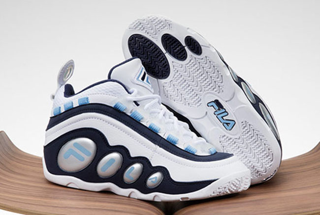 Fila Bubbles OG 20th Anniversary White Navy Light Blue