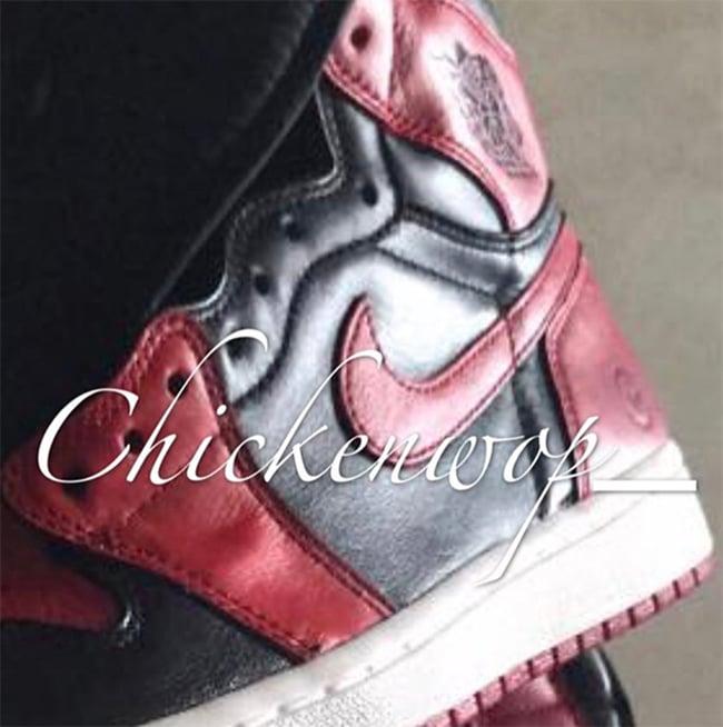 Fragment Design x Air Jordan 1 Bred Black Red