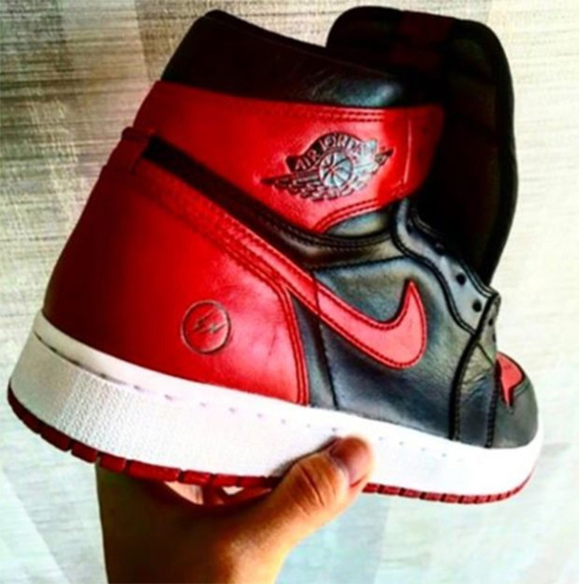 Fragment Design x Air Jordan 1 Bred Rumor