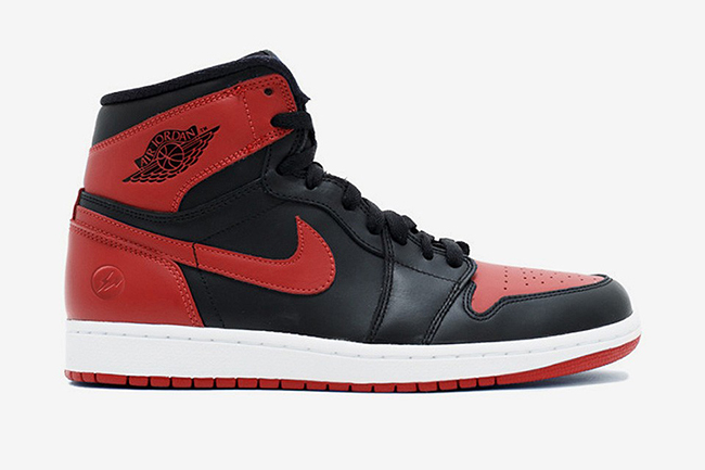 Fragment Design x Air Jordan 1 Bred Sample