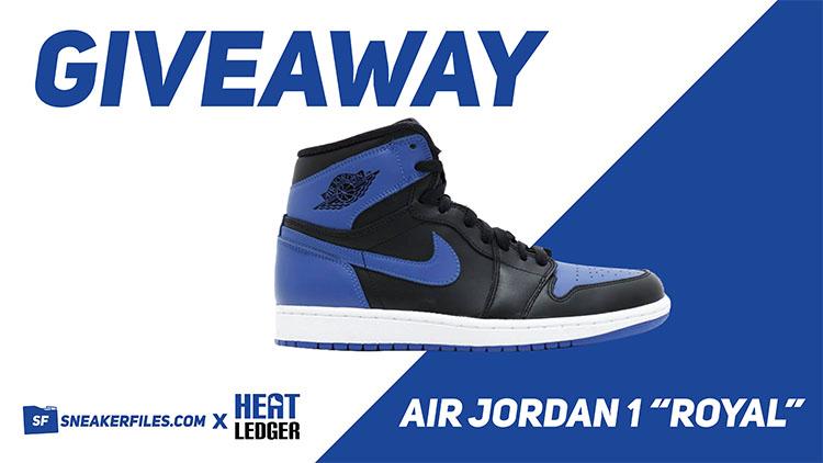 Giveaway Royal Air Jordan 1