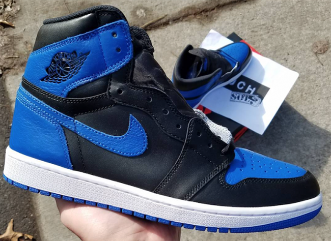 Jordan 1 Retro High OG Royal 2017