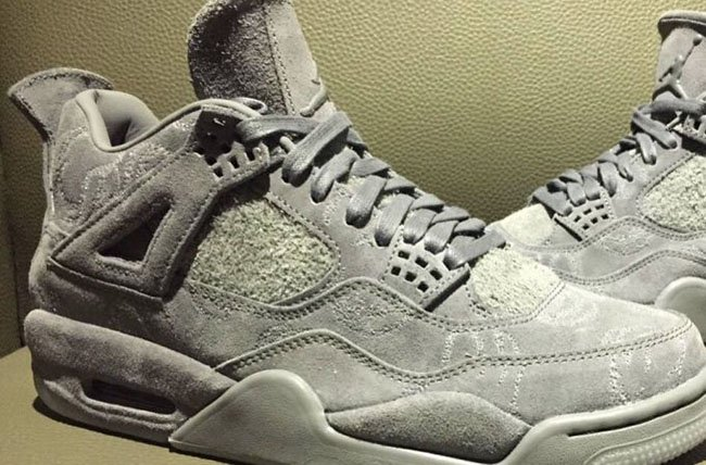 First Look: KAWS x Air Jordan 4 'Cool Grey'
