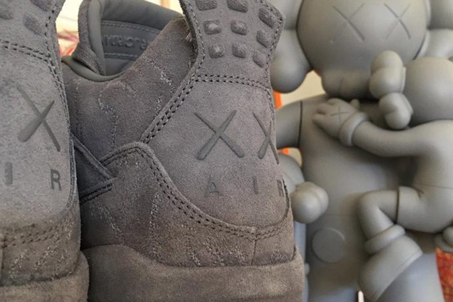 KAWS Air Jordan 4 Grey