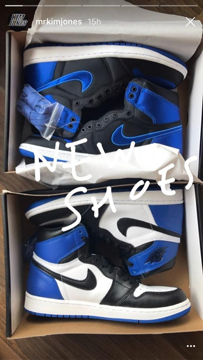 good service top design fashion styles Air Jordan 1 Royal Satin | SneakerFiles