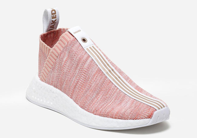 Kith Naked adidas NMD City Sock 2 Pink