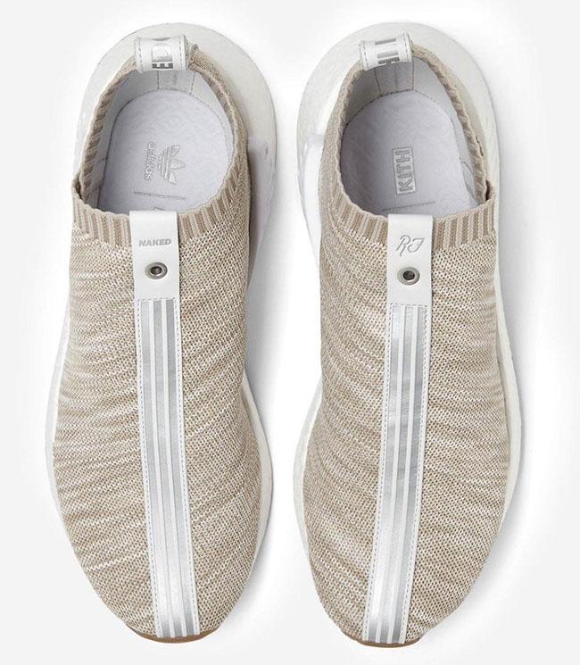 Kith Naked adidas NMD City Sock 2 Sandstone